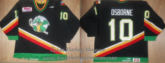 Keith Osborne - Keith Osborne Jersey - Texas Hockey - San Antonio Dragons Hockey - San Antonio Hockey - IHL Hockey - International Holckey League - AHL Hockey - American Hockey League