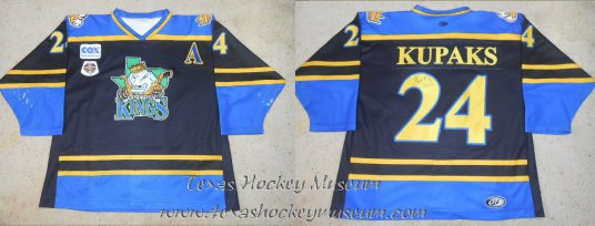 Arthurs Kupaks - Arthurs Kupaks Jersey - Texas Hockey - Lubbock Cotton Kings Hockey - Lubbock Hockey - WPHL Hockey - Western Proffessional Holckey League- CHL Hockey - Central Hockey League