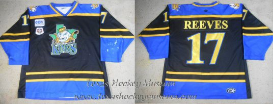 Kyle Reeves - Kyle Reeves Jersey - Texas Hockey - Lubbock Cotton Kings Hockey - Lubbock Hockey - WPHL Hockey - Western Proffessional Holckey League- CHL Hockey - Central Hockey League