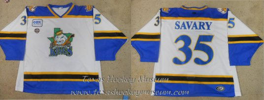 Neil Savary - Neil Savary Jersey - Texas Hockey - Lubbock Cotton Kings Hockey - Lubbock Hockey - WPHL Hockey - Western Proffessional Holckey League- CHL Hockey - Central Hockey League
