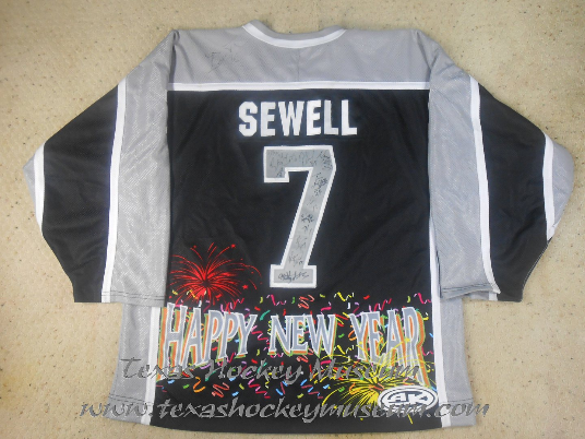 Joey Sewell - Joey Sewell Jersey- Texas Hockey - Amarillo Gorillas Hockey - Amarillo Hockey - WPHL Hockey - Western Proffessional Holckey League- CHL Hockey - Central Hockey League