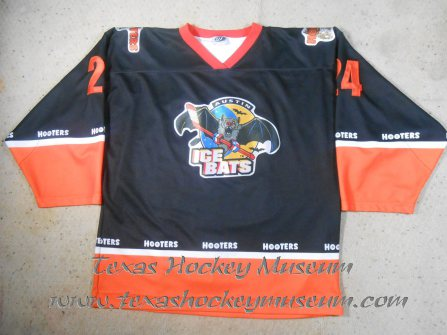 Pat Brownlee - Pat Brownlee Jersey - Texas Hockey - Austin Hockey -  Austin Ice Bats Hockey - WPHL Hockey - Western Proffessional Holckey League- CHL Hockey - Central Hockey League