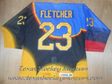 Cory Fletcher - Cory Fletcher Jersey - Texas Hockey - Austin Hockey - Austin Ice Bats Hockey - WPHL Hockey - Western Proffessional Holckey League- CHL Hockey - Central Hockey League