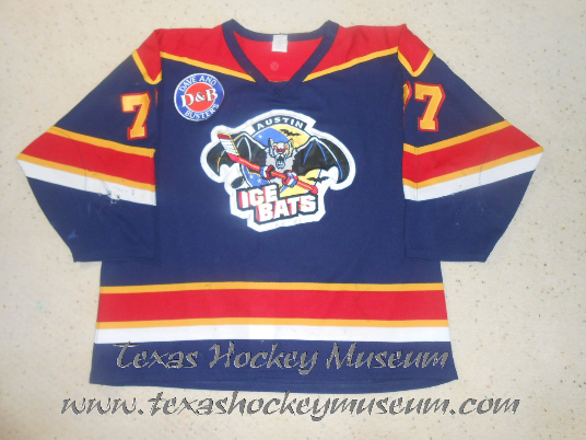 Dan Price - Dan Price Jersey - Texas Hockey - Austin Hockey -  Austin Ice Bats Hockey - WPHL Hockey - Western Proffessional Holckey League- CHL Hockey - Central Hockey League