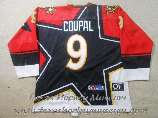 Gary Coupal - Gary Coupal Jersey - Texas Hockey - Central Texas Stampede Hockey - Betlon Hockey - WPHL Hockey - Western Proffessional Holckey League- CHL Hockey - Central Hockey League