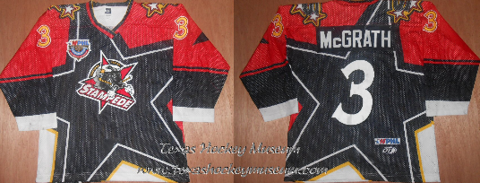 Don McGrath - Don McGrath Jersey - Texas Hockey - Central Texas Stampede Hockey - Betlon Hockey - WPHL Hockey - Western Proffessional Holckey League- CHL Hockey - Central Hockey League