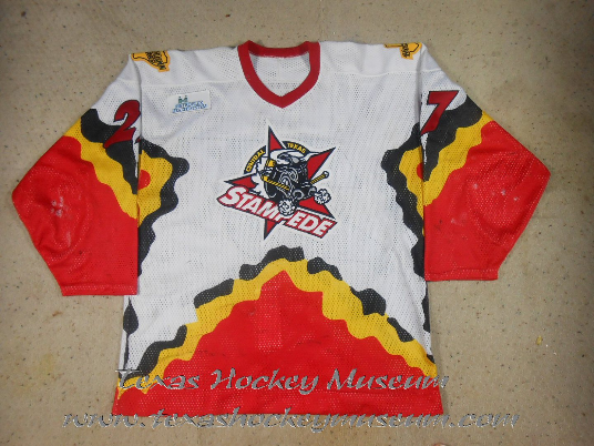 Brian Loney - Brian Loney Jersey - Texas Hockey - Belton Hockey - Central Texas Stampede Hockey - Betlon Hockey - WPHL Hockey - Western Proffessional Holckey League- CHL Hockey - Central Hockey League