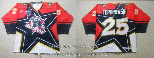 Brad Toporowski - Brad Toporowski Jersey - Texas Hockey - Central Texas Stampede Hockey - Betlon Hockey - WPHL Hockey - Western Proffessional Holckey League- CHL Hockey - Central Hockey League