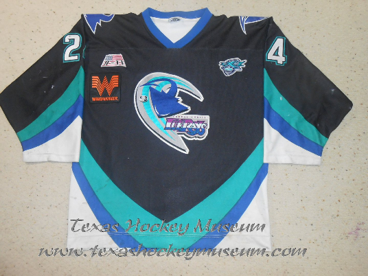 Ryan Prentice - Ryan Prentice Jersey- Texas Hockey - Corpus Christi Icerays Hockey - Corpus Christi Hockey - WPHL Hockey - Western Proffessional Holckey League- CHL Hockey - Central Hockey League