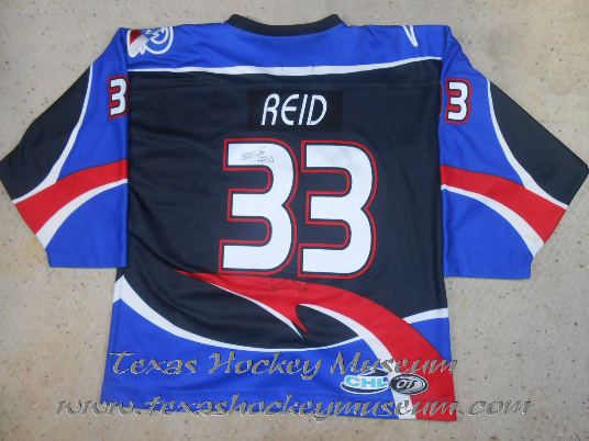 Scott Reid - Scott Reid Jersey- Texas Hockey - Corpus Christi Rayz Hockey - Corpus Christi Hockey - WPHL Hockey - Western Proffessional Holckey League- CHL Hockey - Central Hockey League