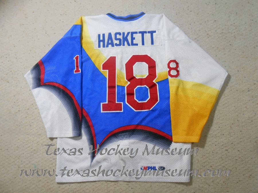 Chris Haskett - Chris Haskett Jersey - Texas Hockey - Austin Hockey - Austin Ice Bats Hockey - WPHL Hockey - Western Proffessional Holckey League- CHL Hockey - Central Hockey League