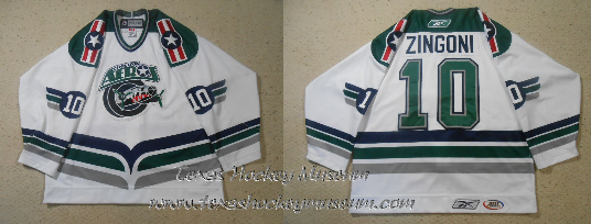 Peter Zingoni - Peter Zingoni Jersey- Texas Hockey - Houston Aeros Hockey - Houston Hockey - AHL Hockey - American Holckey League- IHL Hockey - International Hockey League