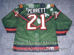 Craig Perrett - Craig Perrett Jersey - Texas Hockey - Abilene Hockey - Abilene Aviators Hockey - WPHL Hockey - Western Proffessional Holckey League- CHL Hockey - Central Hockey League