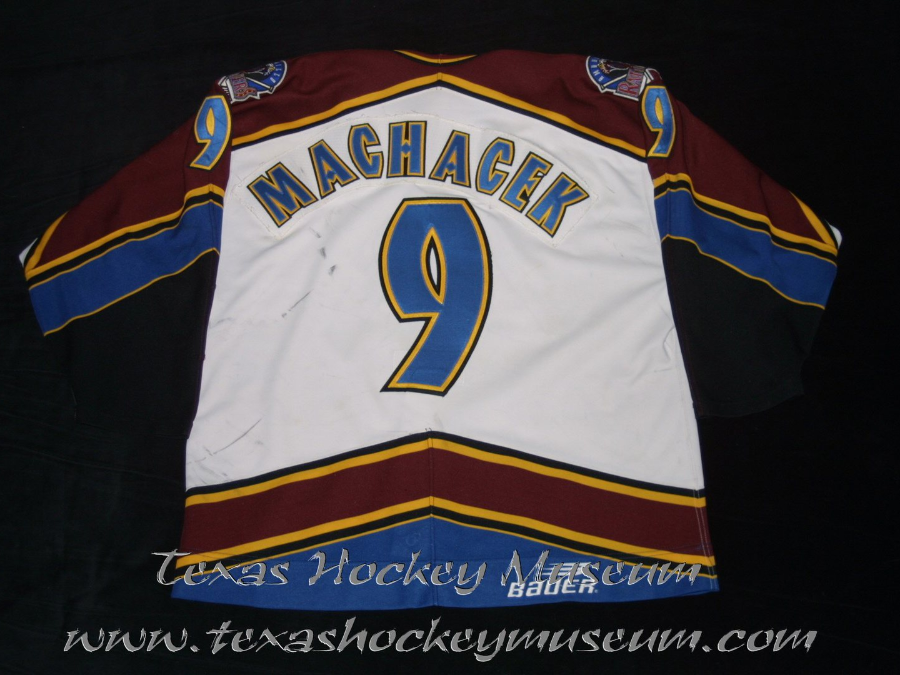 Martin Machacek - Martin Machacek Jersey- Texas Hockey - Amarillo Rattlers Hockey - Amarillo Hockey - WPHL Hockey - Western Proffessional Holckey League- CHL Hockey - Central Hockey League