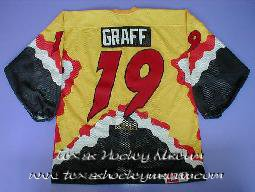 Chris Graff - Chris Graff Jersey - Texas Hockey - Central Texas Stampede Hockey - Betlon Hockey - WPHL Hockey - Western Proffessional Holckey League- CHL Hockey - Central Hockey League