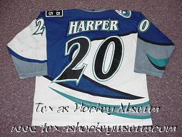 Regan Harper - Regan Harper Jersey- Texas Hockey - Corpus Christi Icerays Hockey - Corpus Christi Hockey - WPHL Hockey - Western Proffessional Holckey League- CHL Hockey - Central Hockey League - USHL