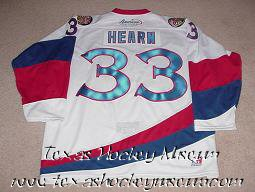 Jamie Hearn - Jamie Hearn Jersey- Texas Hockey - Corpus Christi Icerays Hockey - Corpus Christi Hockey - WPHL Hockey - Western Proffessional Holckey League- CHL Hockey - Central Hockey League - USHL