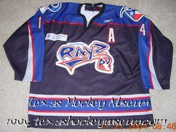 Dan Shermerhorn - Dan Shermerhorn Jersey- Texas Hockey - Corpus Christi Icerays Hockey - Corpus Christi Hockey - WPHL Hockey - Western Proffessional Holckey League- CHL Hockey - Central Hockey League