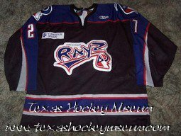 Mike Rodrigues - Mike Rodrigues Jersey- Texas Hockey - Corpus Christi Icerays Hockey - Corpus Christi Hockey - WPHL Hockey - Western Proffessional Holckey League- CHL Hockey - Central Hockey League -