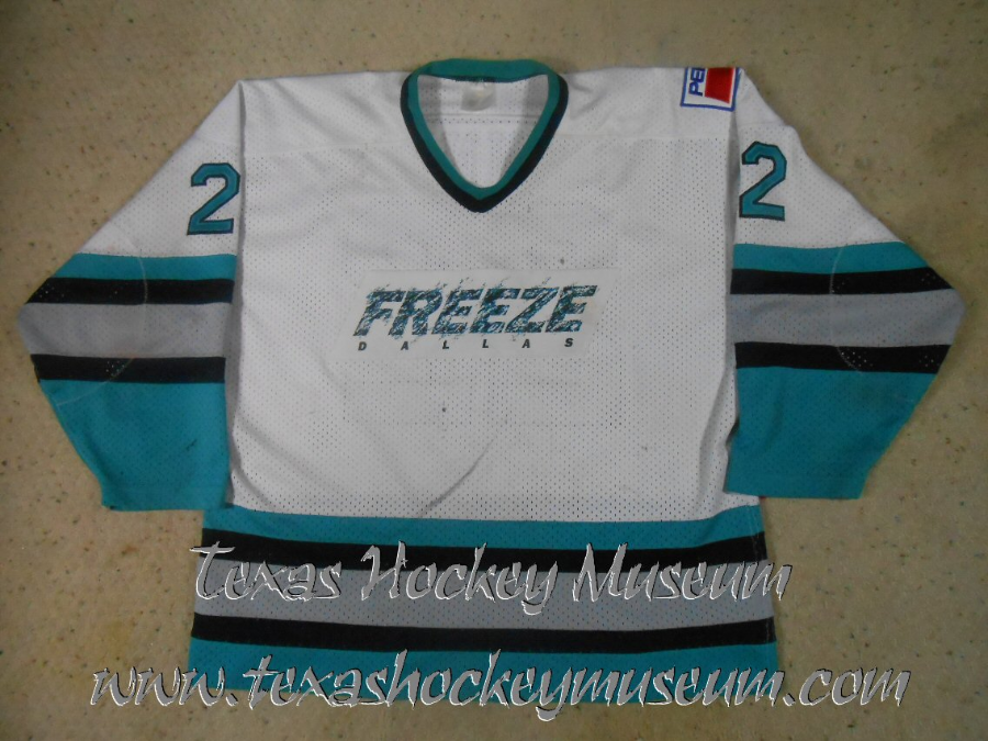 Troy Bennie - Troy Bennie Jersey - Texas Hockey - Dallas Hockey - Dallas Freeze Hockey - WPHL Hockey - Western Proffessional Holckey League- CHL Hockey - Central Hockey League