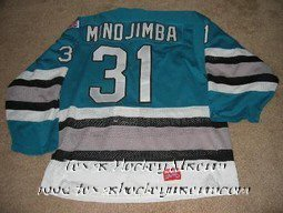 Antone Mindjimba - Antone Mindjimba Jersey - Texas Hockey - Dallas Hockey - Dallas Freeze Hockey - WPHL Hockey - Western Proffessional Holkey League- CHL Hockey - Central Hockey League