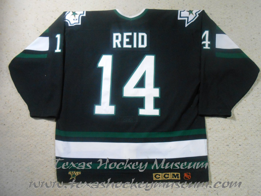 Dave Reid - Dave Reid Jersey - Texas Hockey - Austin Hockey - Dallas Hockey - Dallas Stars Hockey - Texas Stars Hockey - NHL Hockey - National Holckey League- AHL Hockey - American Hockey League