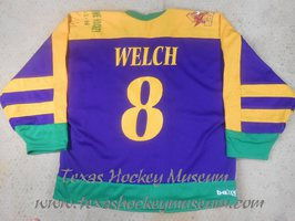 Jason Welch - Jason Welch Jersey - Texas Hockey - El Paso Hockey - El Paso Buzzards Hockey - WPHL Hockey - Western Proffessional Holckey League- CHL Hockey - Central Hockey League