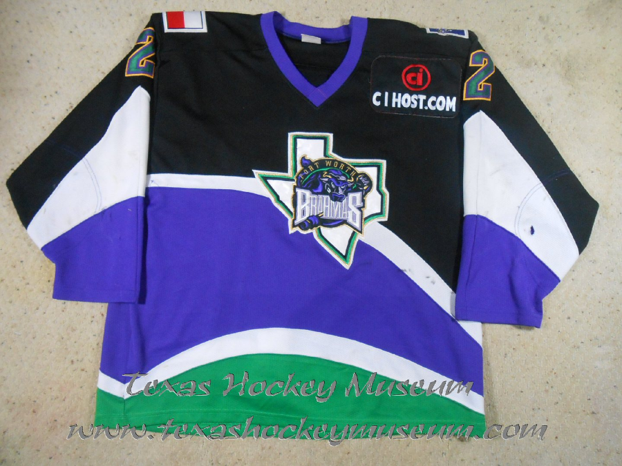 Radek Stepan - Radek Stepan Jersey - Texas Hockey - Fort Worth Hockey - Fort Worth Brahmas Hockey - WPHL Hockey - Western Proffessional Holckey League- CHL Hockey - Central Hockey League