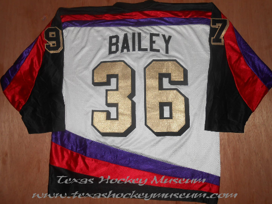 Greg Bailey - Greg Bailey Jersey - Texas Hockey - Odessa Jackalopes Hockey - Odessa Hockey - WPHL Hockey - Western Proffessional Holckey League- CHL Hockey - Central Hockey League