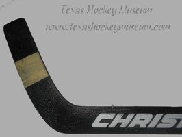 Chad Erickson - Chad Erickson Goalie Stick - Texas Hockey - Austin Hockey - Austin Ice Bats Hockey - WPHL Hockey - Western Proffessional Holckey League- CHL Hockey - Central Hockey League
