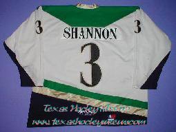 Ryan Shannon - Ryan Shannon Jersey - Texas Hockey - Fort Worth Hockey - Fort Worth Brahmas Hockey - WPHL Hockey - Western Proffessional Holckey League- CHL Hockey - Central Hockey League