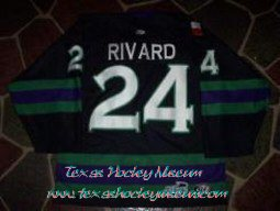 Ryan Rivard - Ryan Rivard Jersey - Texas Hockey - Fort Worth Hockey - Fort Worth Brahmas Hockey - WPHL Hockey - Western Proffessional Holckey League- CHL Hockey - Central Hockey League