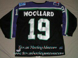 Chad Woollard - Chad Woollard Jersey - Texas Hockey - Fort Worth Hockey - Fort Worth Brahmas Hockey - WPHL Hockey - Western Proffessional Holckey League- CHL Hockey - Central Hockey League
