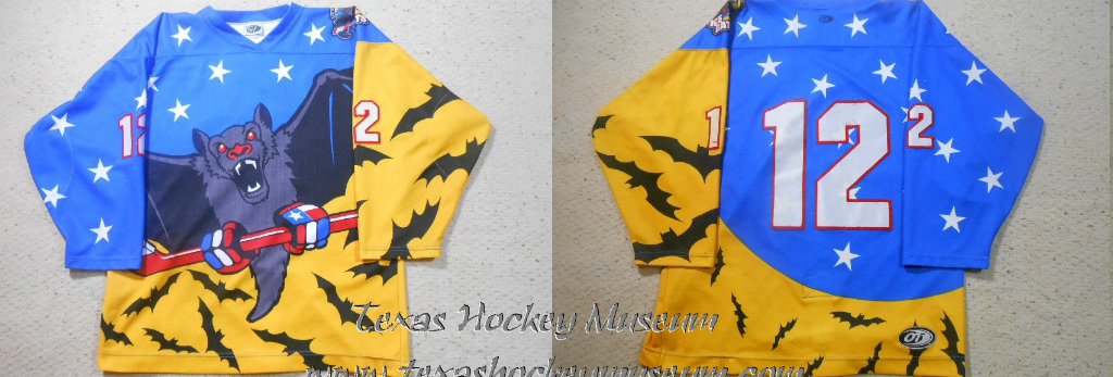 Rodger Lewis - Rodger Lewis Jersey - Texas Hockey - Austin Hockey -  Austin Ice Bats Hockey - WPHL Hockey - Western Proffessional Holckey League- CHL Hockey - Central Hockey League