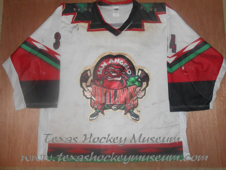 31fcc13650c 1997-1998 WPHL San Angelo Outlaws Jerseys