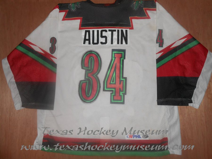 cace3ee52e7 1997-1998 WPHL San Angelo Outlaws Jesse Austin
