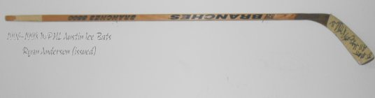 Ryan Anderson - Ryan Anderson Hockey Stick  - Texas Hockey - Austin Hockey - Austin Ice Bats Hockey - WPHL Hockey - Western Proffessional Holckey League- CHL Hockey - Central Hockey League