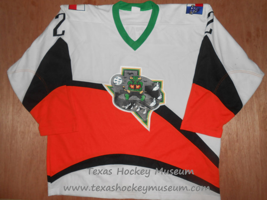 Danial Villeneuve - Danial Villeneuve Jersey - Texas Hockey - Fort Worth Hockey - Fort Worth Brahmas Hockey - WPHL Hockey - Western Proffessional Holckey League- CHL Hockey - Central Hockey League