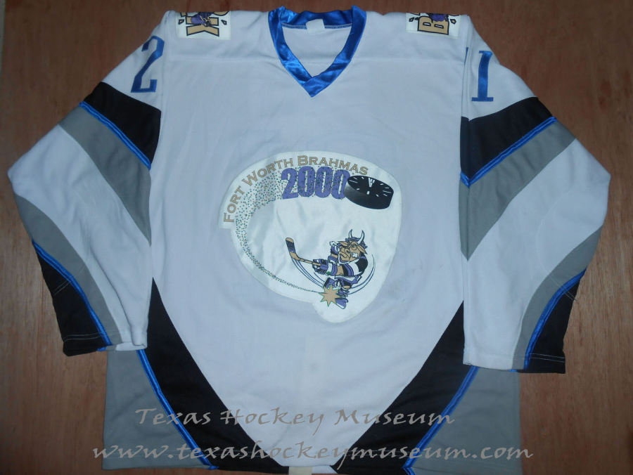 Cory Evans - Cory Evans Jersey - Texas Hockey - Fort Worth Hockey - Fort Worth Brahmas Hockey - WPHL Hockey - Western Proffessional Holckey League- CHL Hockey - Central Hockey League