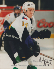 Martin Fillion - Texas Hockey - Fort Worth Hockey - Fort Worth Brahmas Hockey - WPHL Hockey - Western Proffessional Holckey League- CHL Hockey - Central Hockey League