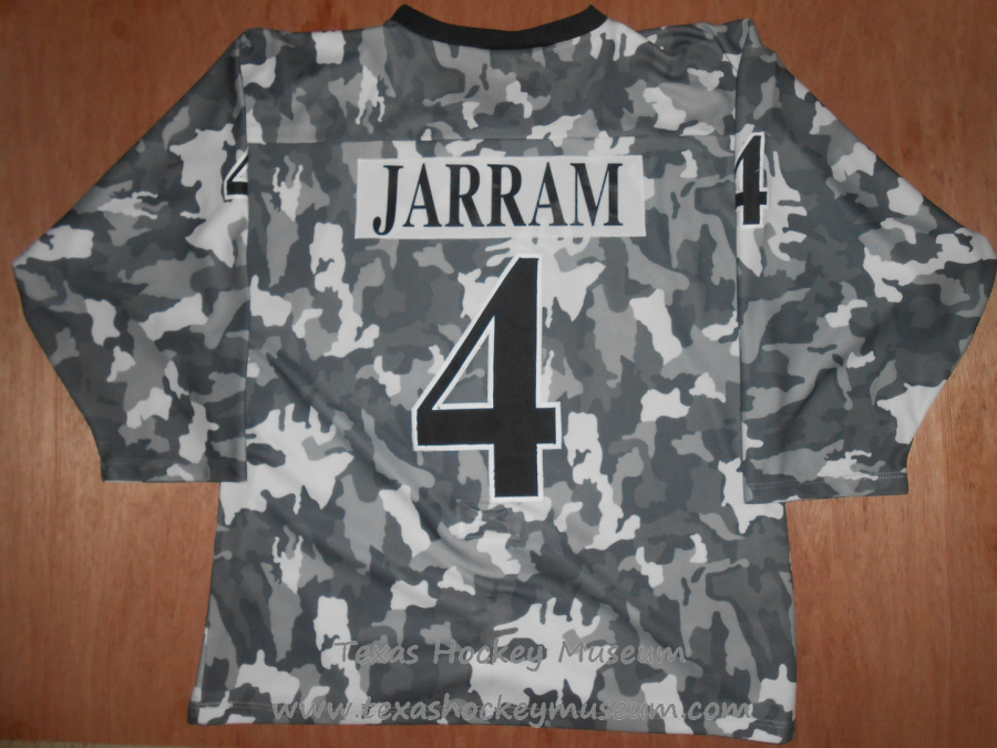 01bfd528cba 2003-2005 CHL San Angelo Saints John Jarram Military Appreciation Hockey  Jersey