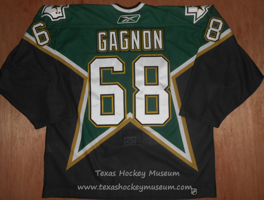 Aaron Gagnon - Aaron Gagnon Jersey - Texas Hockey - Austin Hockey - Dallas Hockey - Dallas Stars Hockey - Texas Stars Hockey - NHL Hockey - National Holckey League- AHL Hockey - American Hockey League