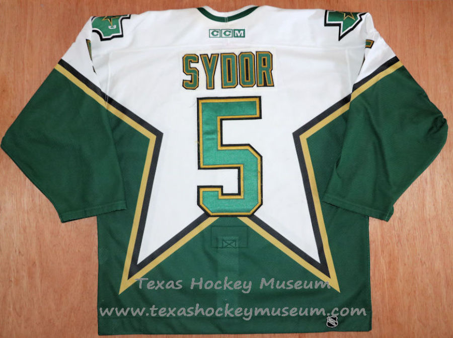 Darryl Sydor - Darryl Sydor Jersey - Texas Hockey - Austin Hockey - Dallas Hockey - Dallas Stars Hockey - Texas Stars Hockey - NHL Hockey - National Holckey League- AHL Hockey - American Hockey League