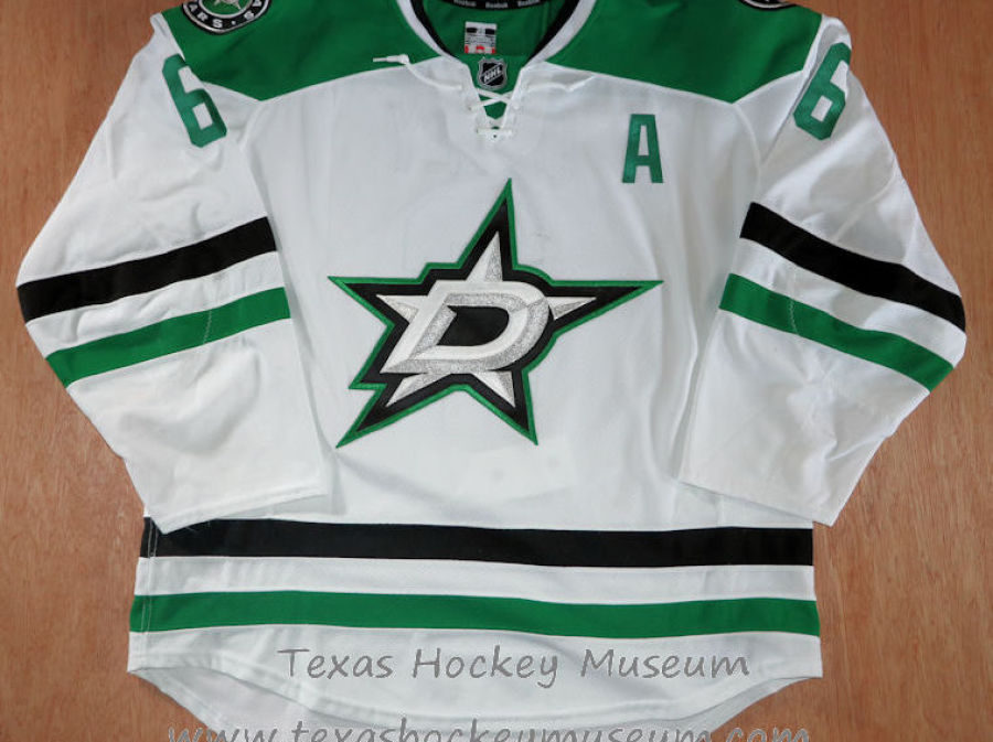 Trevor Daley - Trevor Daley Jersey - Texas Hockey - Austin Hockey - Dallas Hockey - Dallas Stars Hockey - Texas Stars Hockey - NHL Hockey - National Holckey League- AHL Hockey - American Hockey League