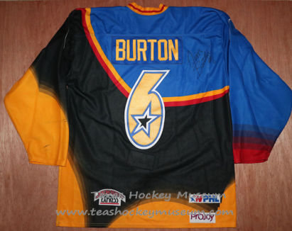 Jim Burton - Jim Burton Jersey - Texas Hockey - Austin Hockey - Austin Ice Bats Hockey - WPHL Hockey - Western Proffessional Holckey League- CHL Hockey - Central Hockey League