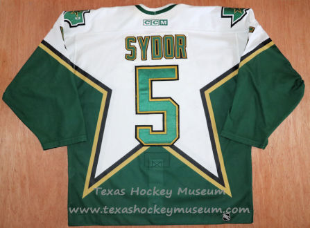 Darryl Sydor - Darryl Sydor Jersey - Texas Hockey - Austin Hockey -Dallas Hockey- Dallas Stars Hockey - Texas Stars Hockey - NHL Hockey - National Holckey League- AHL Hockey - American Hockey League