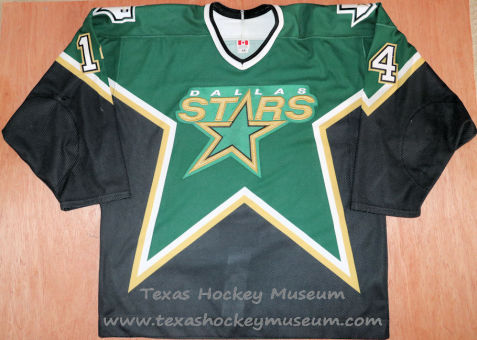 Stu Barnes - Stu Barnes Jersey - Texas Hockey - Austin Hockey -Dallas Hockey- Dallas Stars Hockey - Texas Stars Hockey - NHL Hockey - National Holckey League- AHL Hockey - American Hockey League
