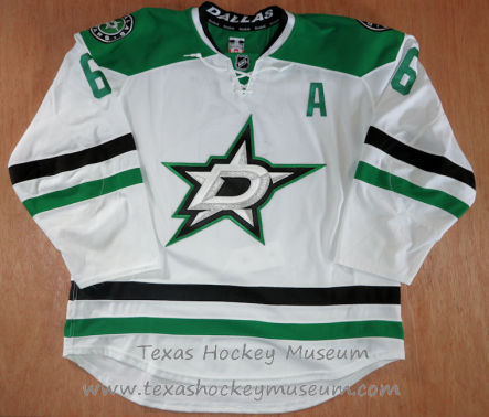 Trevor Daley - Trevor Daley Jersey - Texas Hockey - Austin Hockey -Dallas Hockey- Dallas Stars Hockey - Texas Stars Hockey - NHL Hockey - National Holckey League- AHL Hockey - American Hockey League