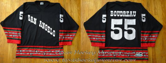 8efe51285b4 2002-03 San Angelo Saints Jersey - Carl Boudreau (Authentic) (Not Available)
