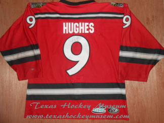 Brent Hughes - Brent Hughes Jersey- Texas Hockey - Amarillo Gorillas Hockey - Amarillo Hockey - WPHL Hockey - Western Proffessional Holckey League- CHL Hockey - Central Hockey League